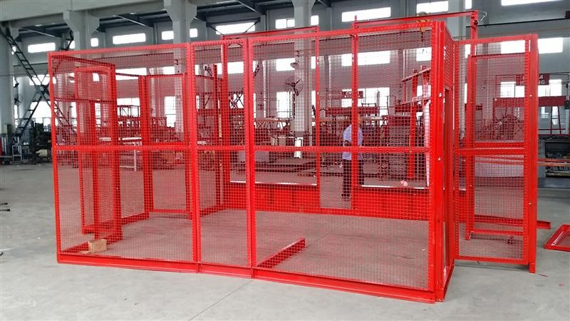 Hot Dipped Zinc Construction Site Elevator 1000kgs - 3200kgs