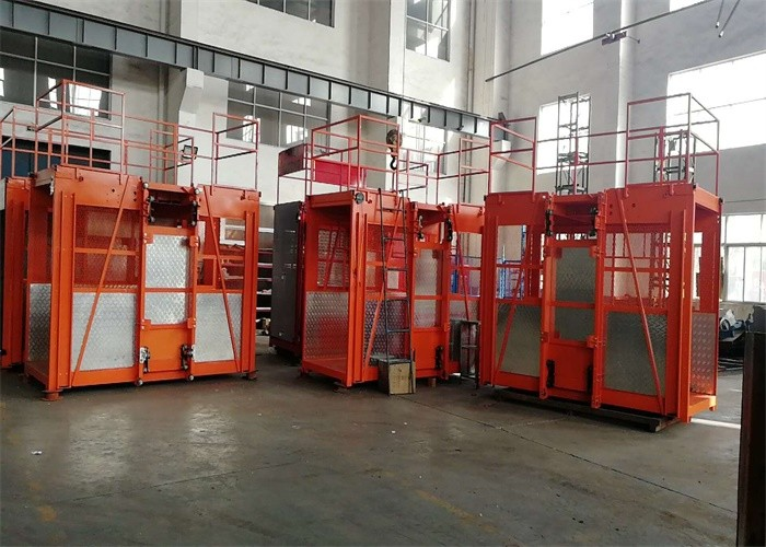 Residence Construction Hoist Elevator Frequency Convertible Control System