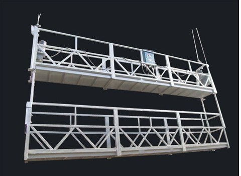 Aluminum Alloy Double Deck Rope Suspended Platform and Suspended Access Equipment
