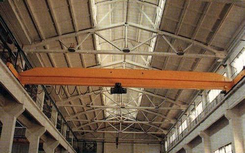 1 - 10t, 7.5 - 22.5m Span, 6 - 30m Single Grider Electric Overhead Crane LDA Type
