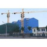 Construction Potain Tower Crane TC6010 / Luffing Crane with 60m Jib Length , 1.0t Rated load